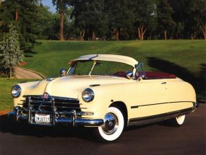 1950 Hudson Custom Commodore Convertible Brougham
