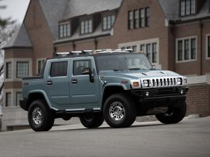 2007 Hummer H2 SUT Glacier Blue Limited Edition