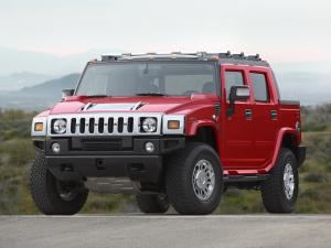 2007 Hummer H2 SUT Victory Red Limited Edition