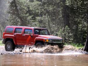 2007 Hummer H3 Rubicon Trail Off-Road