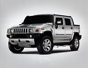 2008 Hummer H2 SUT Silver Ice Limited Edition