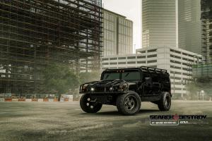 Hummer H1 Search Destroy by EVS Motors on ADV.1 Wheels (ADV05C Truck Spec HD.1) '2015
