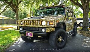 2016 Hummer H2 Alligator Ron by MetroWrapz