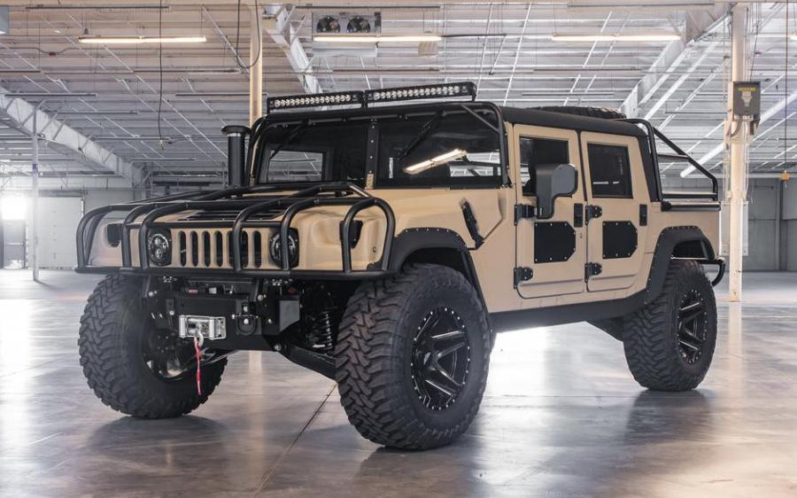 Hummer H1 Launch Edition by Mil-Spec Automotive 2018 года