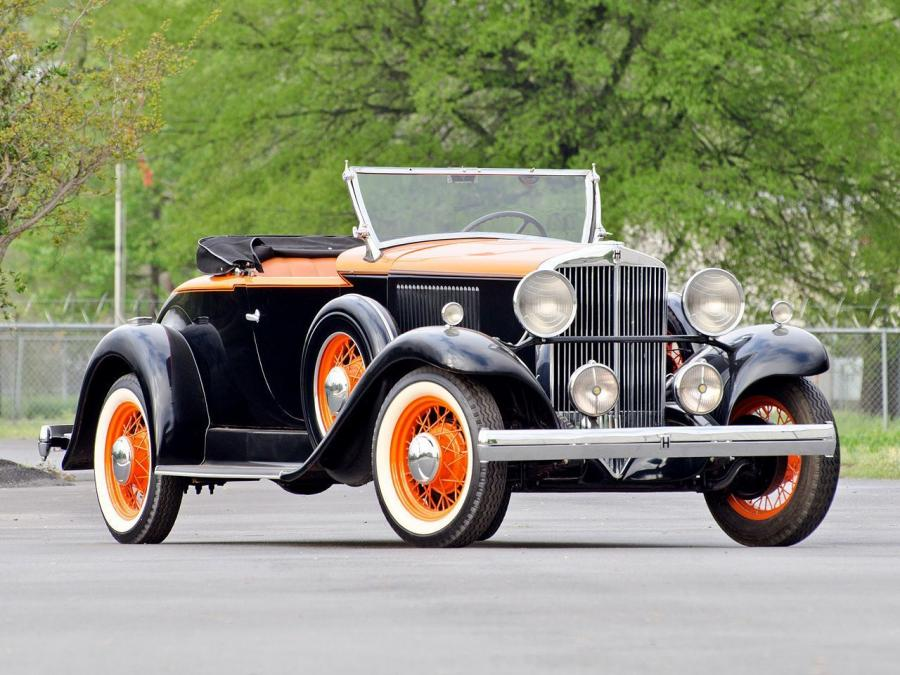 Hupmobile Model B-216 Roadster