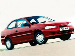 1994 Hyundai Accent 3-Door