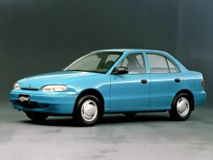 Hyundai Accent Sedan 1994 года