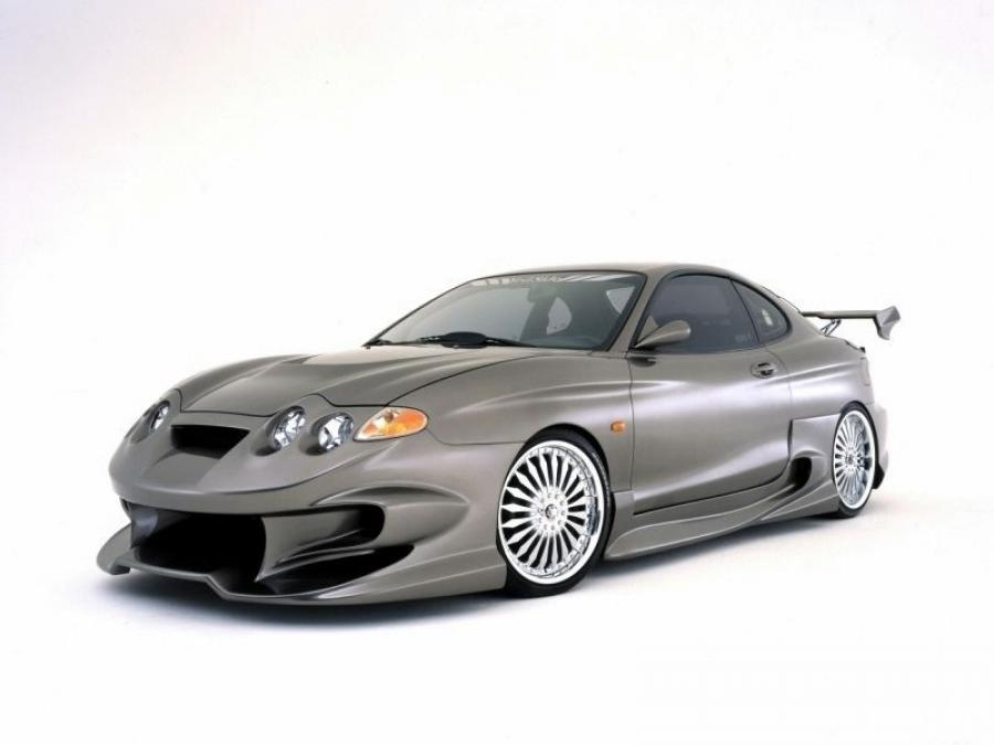 Hyundai Coupe by VeilSide