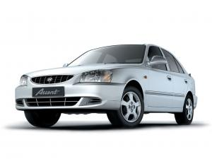 Hyundai Accent Sedan 2000 года