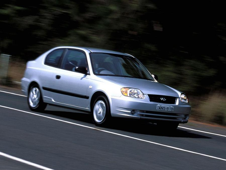 Hyundai Accent 3-Door (AU) '2003
