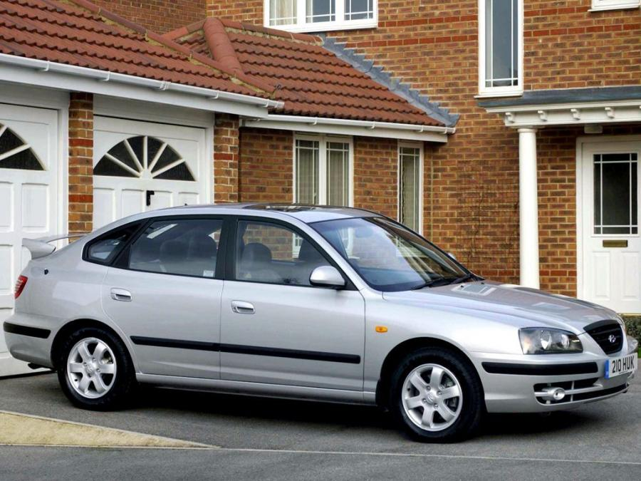 2003 Hyundai Elantra Hatchback (UK)