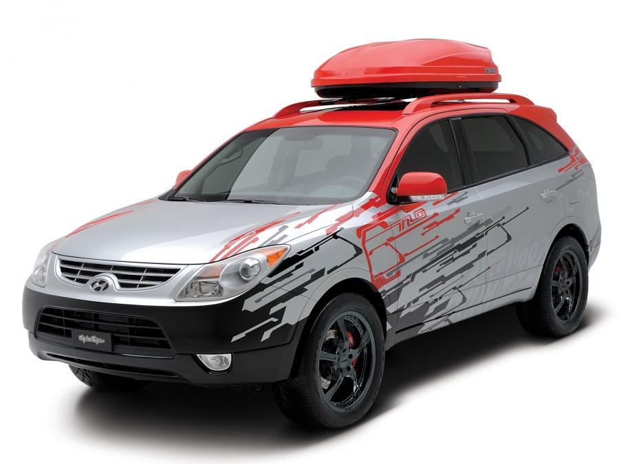Hyundai Veracruz High-Tech Urban Escape Vehicle by Troy Lee Designs '2007