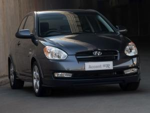 Hyundai Accent SR 3-Door 2008 года