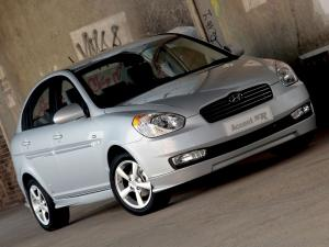 Hyundai Accent SR Sedan 2008 года