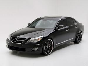2008 Hyundai Genesis Black Edition by DUB Magazine