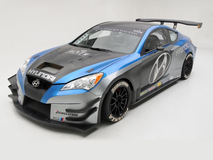 2008 Hyundai Genesis Coupe Concept by RMR