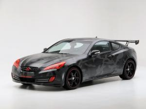 Hyundai Genesis Coupe by Street Concepts 2008 года