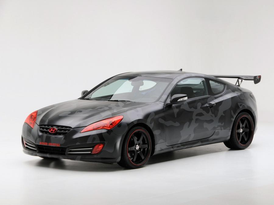 2008 Hyundai Genesis Coupe by Street Concepts