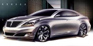 Hyundai Equus Sketches 2009 года