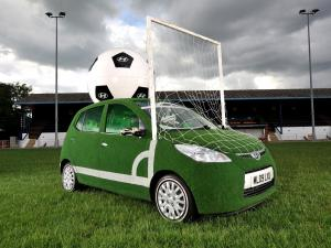 2010 Hyundai i10 FIFA World Cup Promo Car by Andy Saunders