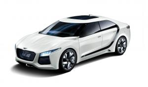 Hyundai Blue2 Fuel-Cell Concept 2011 года