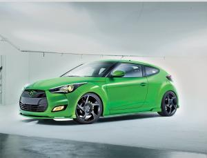 Hyundai Veloster Gaming by Remix 2011 года