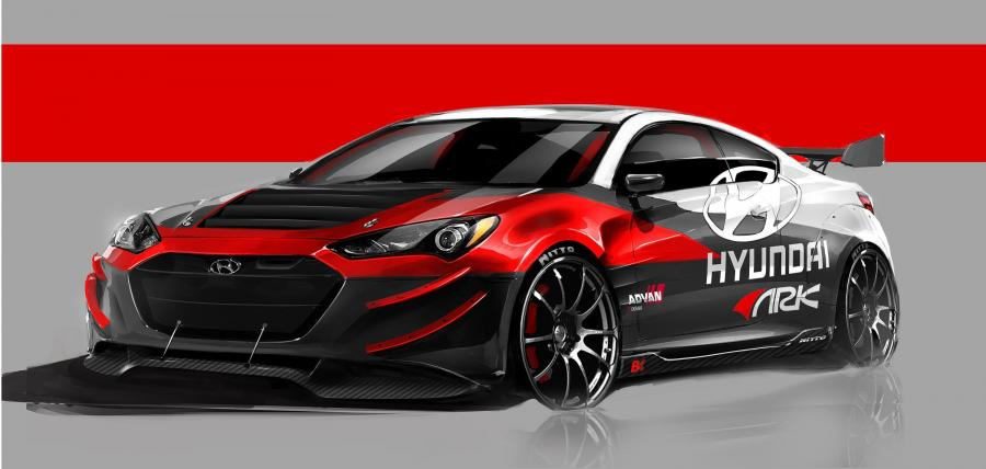 2012 Hyundai Genesis Coupe R-Spec Track Edition by ARK