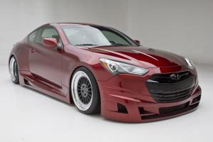 2012 Hyundai Genesis Coupe Turbo Concept by FuelCulture