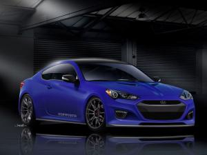 Hyundai Genesis Coupe by Cosworth 2012 года