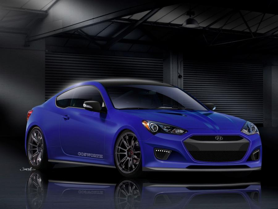 2012 Hyundai Genesis Coupe by Cosworth