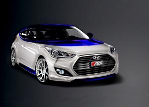 Hyundai Veloster Alpine Concept by ARK Performance 2012 года