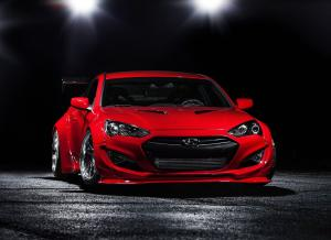 2014 Hyundai Genesis Coupe by Blood Type Racing