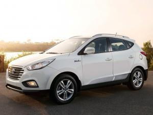 2014 Hyundai Tucson Fuel Cell