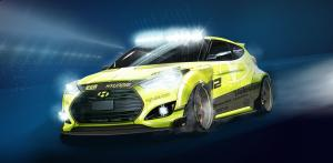 Hyundai Veloster Turbo Night Racer by EGR Group 2014 года
