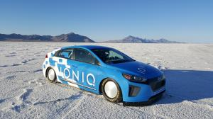 Hyundai IONIQ hybrid Land Speed Record Car 2016 года
