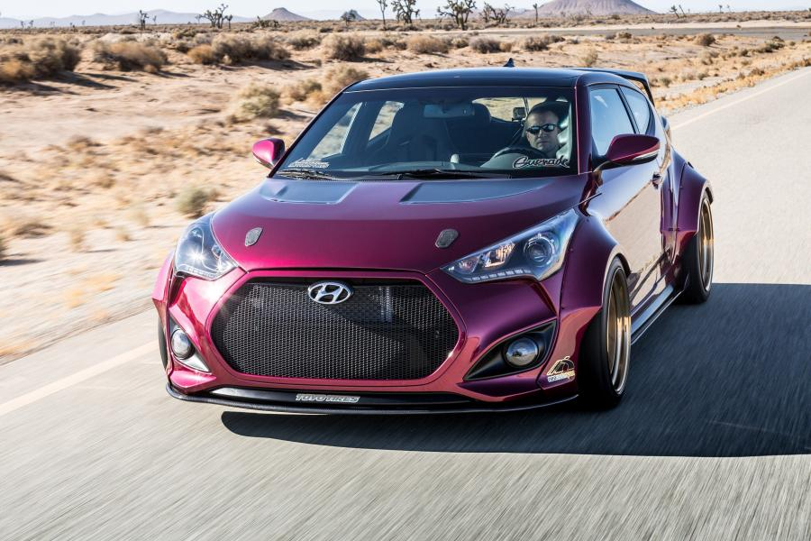 Hyundai Veloster Concept by Gurnade
