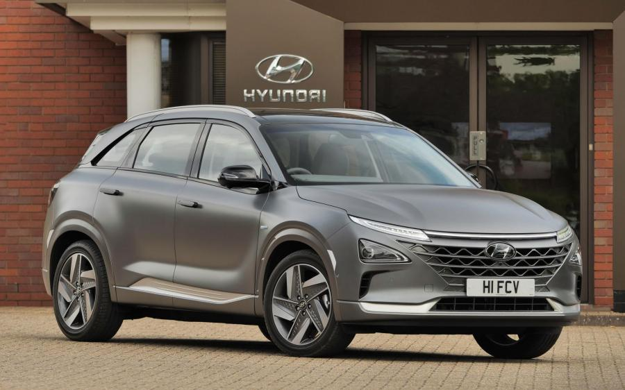 Hyundai NEXO (UK) '2018