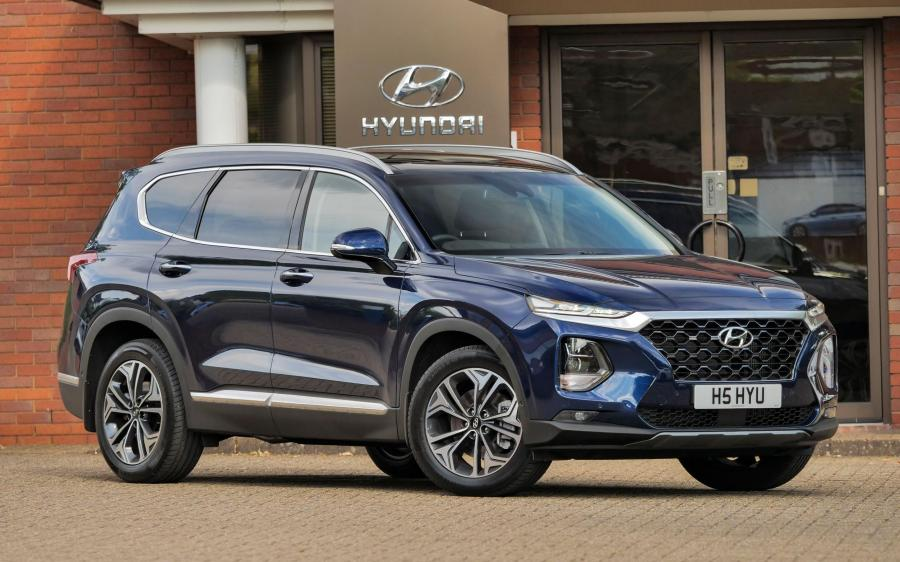 2018 Hyundai Santa Fe (UK)