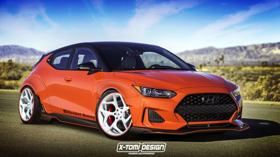 Hyundai Veloster Rocket Bunny by X-Tomi Design