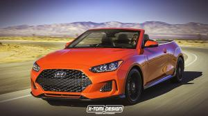 Hyundai Veloster Turbo Convertible by X-Tomi Design 2018 года
