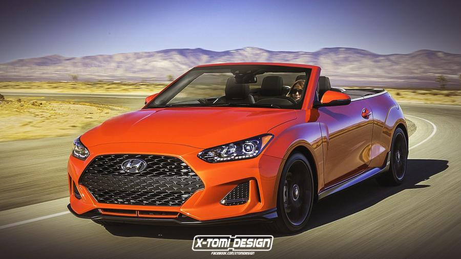 Hyundai Veloster Turbo Convertible by X-Tomi Design