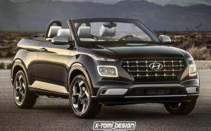 Hyundai Venue Convertible by X-Tomi Design '2019