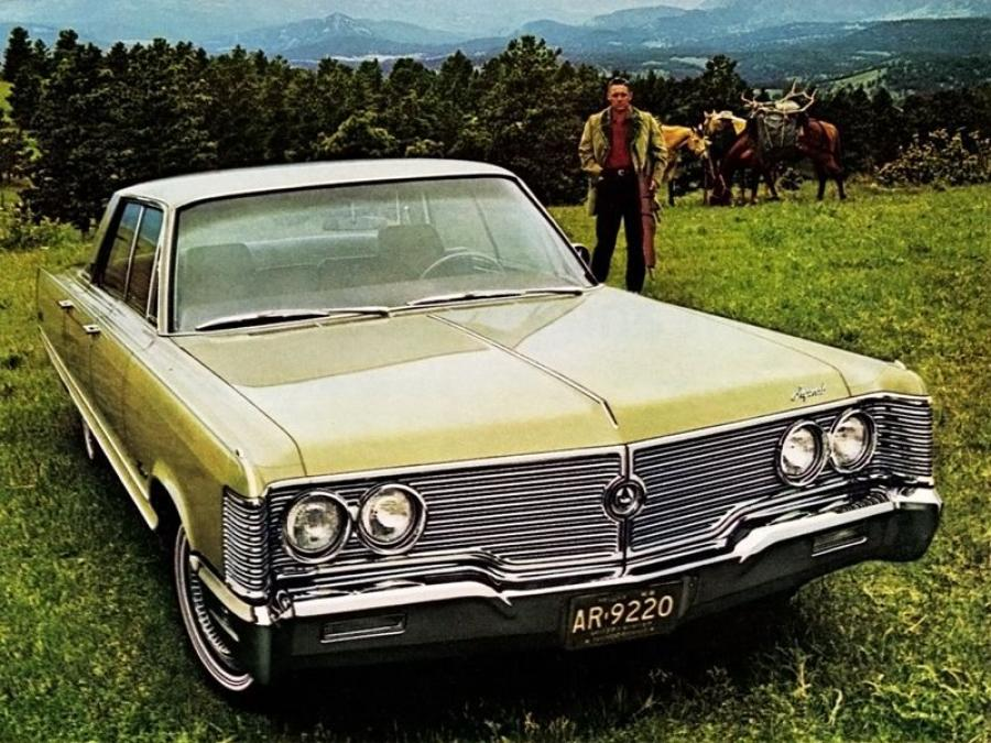 Imperial Crown Hardtop Sedan (DY1-M) '1968