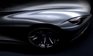 2012 Infiniti Electric Sports Car Concept