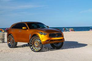 Infiniti FX by Forgiato Wheels 2015 года