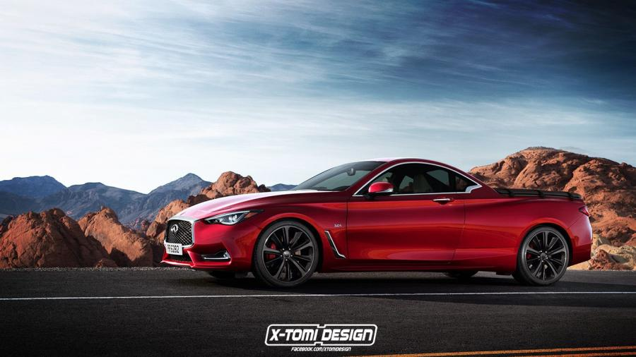 Infiniti Q60 Picup by X-Tomi Design '2016