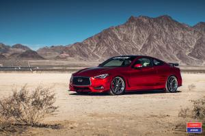2017 Infiniti Q60 Stillen on Vossen Wheels (VWS-1)