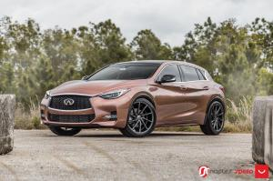 Infiniti QX30S 2.0t AWD on Vossen Wheels (CVT) 2017 года
