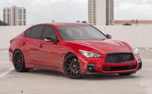 Infiniti Q50S by Naples Speed on Vossen Wheels (HF-2)