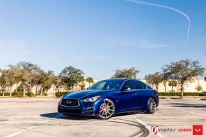 2018 Infiniti Q50S by Naples Speed on Vossen Wheels (VFS-10)